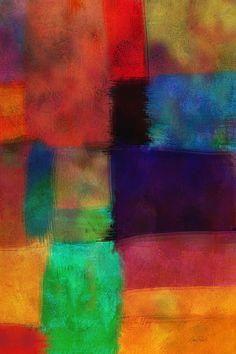 Abstract Study Five by Ann Powell #abstract #art #prints #annpowellart #fineartamerica