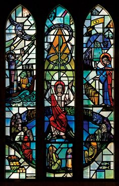 The Miracles Window in Boe Chapel