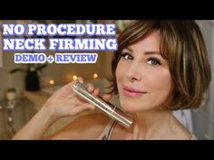 Maybe you've seen ads recently for this NO NEEDLE sculpting wand by Spencer Barnes LA. I bought it to see if it could truly take years off my neck, chin and Fashion And Beauty Tips, Health And Beauty, Dominique Sachse, Makeup Tips, Hair Makeup, Jawline, Natural Skin Care, Beauty Hacks, Beauty Secrets