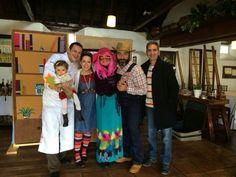 Teatro y gastronomía en Mesón el Drago junto con Zalatta Teatro.