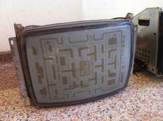 Accidental art: Video game screen burn-in