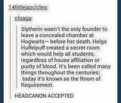 Brilliant! Yes, headcanon accepted!