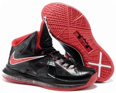 official photos 2c1e4 82dd2 Cheap Nike Lebron 10 Shoes For Sale Black Varsity Red Red Medal 541100 402