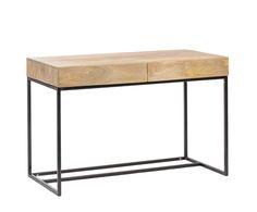 117 cm x 78 cm x 60 cm Mango wood, desk http://unodesign.pl/item/674/299/Katalog-produktow/Meble/Kolekcje/SoHo/Biurko.html
