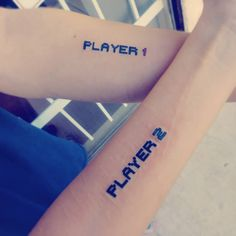 Brother Sister Tattoos Piercing k brothers piercing Gamer Tattoos, Tattoos Para Casais, Bff Tattoos, Music Tattoos, Family Tattoos, Friend Tattoos, Couple Tattoos, Sleeve Tattoos, Cute Tattoos For Women
