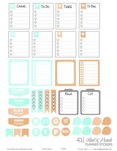 mint-and-peach-planner-stickers_VintageGlamStudio