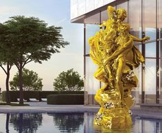 Real Estate and Art Intertwine in Miami #RealEstate #OceanBalHarbour #JeffKoons