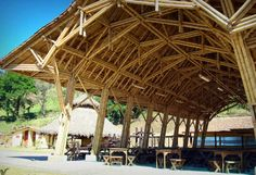 Stunning Mexican Bamboo Architecture by Vo Trong Nghia : Cool Mexican Panaca Bamboo Architecture