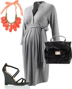 """""""Work III"""" by pregnantchicken on Polyvore #Maternity"""