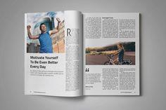 Indesign Multipurpose Magazine Vol 8 by Grapics Studios on @creativemarket