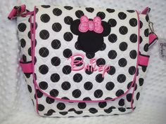 Minnie Diaper Bag, I just ordered this for Sophia. We also got a pink and green bag with a mod monkey!!!