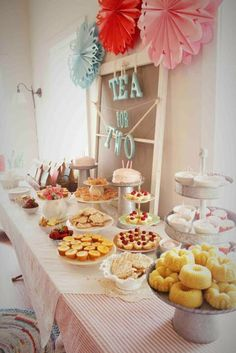 I can't wait to start having tea parties for Emmie and her friends. We'll host one every year and make them SO fun for the girls! Secret garden tea party, princess tea party, vintage tea party, my head is swimming with ideas...