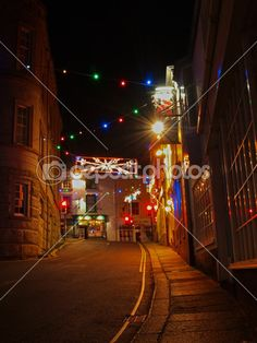 Christmas Street Lights In Helston, Cornwall— Stock Photo #16931799