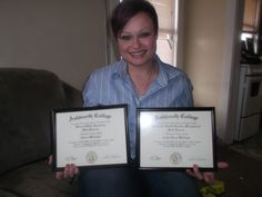 Congratulations to Corrie Williams! She graduated from our Online Medical Administrative Assisting program in 2014 and our Online Electronic Health Records Management program in 2015. #ashworthcollege #ashworthreviews