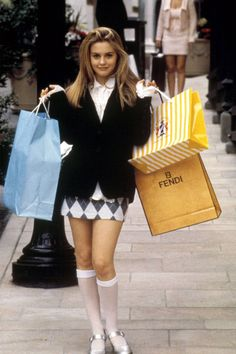 clueless film fashion - The G. Spring 2014 collection pays tribute to Clueless film fashions that will have you channeling your inner Cher Horowitz. Cher Horowitz, 1990 Style, Style Année 90, Preppy Style, Clueless 1995, Clueless Outfits, Clueless Style, Clueless Fashion, Clueless Costume