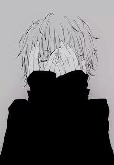Imagen de anime, boy, and manga Dark Anime, M Anime, Hot Anime Guys, Anime Art, Anime Boys, Anime Ghost, Guy Drawing, Manga Drawing, Drawing Eyes