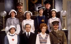 Upstairs, Downstairs: An older series that follows the life of a rich family and the servants downstairs from the late Victorian age to the end of the 1920s. Season 4 deals with WWI and is amazing. 5 seasons.