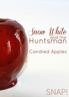 Make candied apples and watch Snow White and the Huntsman. Movie giveaway on this post!