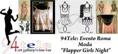 """Evento Roma Moda """"Flapper Girls Night"""" (94Tele Rione Monti) http://www.94tele.com/events/evento-roma-moda-flapper-girls-night/"""