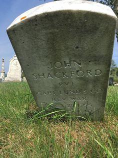 Tombstone Tuesday – Finding John Shackford's Gravestone in Eastport  #genealogy
