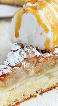 Apple Cake with Streusel Topping