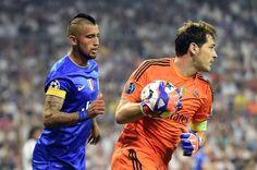 Vidal está a dois minutos de se tornar o 1º chileno a jogar uma final de Champions League