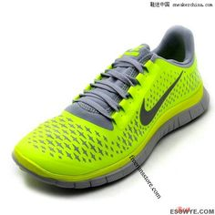 fd95a20735f4a Nike Free 2013 3.0 V4 Volt Reflective Silver Platinum Cheap Running Shoes