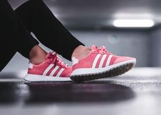 sports shoes c2785 3d2e7 adidas Originals Flashback Primeknit Pink