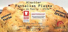 Alquiler Pantallas Plasma Feria Madrid IFEMA - INTERSICOP 2015