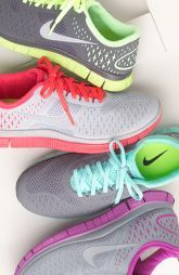 I own the too pair and these Nike shoes are so comfy even for the non tennis shoe wearing girl like me