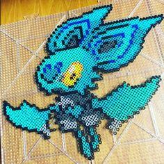Noibat Pokemon perler beads by spaceduck90