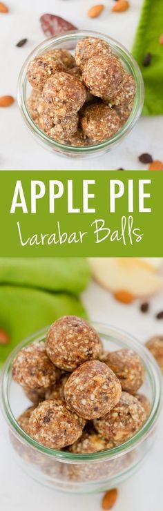 Apple Pie Larabar Balls