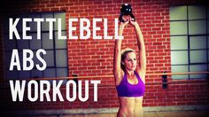 8 Minute Kettlebell Ab Workout to Shape and Sculpt your Abs (BodyFit by Amy)