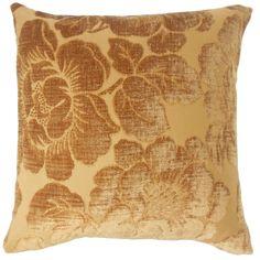 Cenobia Floral Pillow Ginger