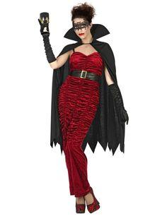DARK Tentatrice Vampiro Costume Donna Vampiro Halloween fantasia Abito Outfit