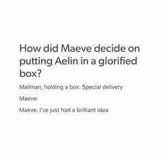 Maeve putting Aelin in the iron coffin in EOS