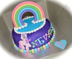 my little pony birthday cake | Birthday Cake Photos - My Little Pony Cake. ... | Birthday/Party ide ...