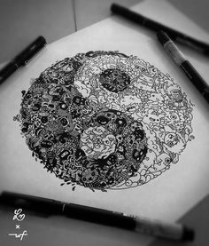 YinYang Doodle   Lei Melendres
