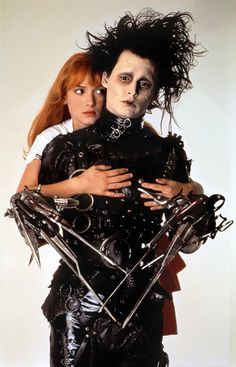Edward Scissorhands & Kim Edward (1990) / Johnny Depp & Winona Ryder