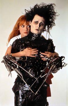 Edward Scissorhands & Kim Edward (1990) / Johnny Depp & Winona Ryder