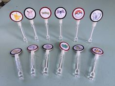 Pokemon Go/Pokemon Bubble Wands. Pin now save for later!