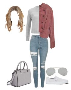 Untitled #641 by nickeyg on Polyvore featuring polyvore, fashion, style, The Fifth Label, Topshop, Vans, MICHAEL Michael Kors, Acne Studios and clothing