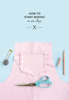 Fancy sewing your own clothes but don't know where to start? If you've stumbled upon this site while researching how to get into sewing. Sewing patterns, tips and tutorials for beginners. Design Your Own Clothes, Sew Your Own Clothes, Make Your Own Dress, How To Make Clothes, Sewing Clothes, Sewing Terms, Sewing Class, Sewing Basics, Sewing For Beginners