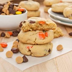 Recipe for Peanut Butter Pudding Cookies. Yum! Made these today and they are delicious! I kept snitching at the batter ;) -Jess