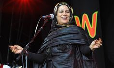 Singer whose protest songs on behalf of her Sahrawi people in north Africa brought her international recognition