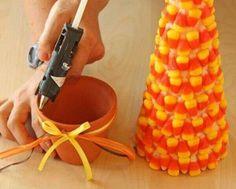 Three candy corn crafts