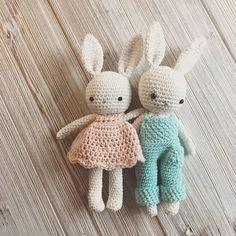 Amigurumi bunny boycrochet bunny crochet toybaby bunny