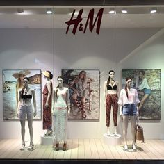 """H&M,London,UK, """"The heavy Caribbean air of the Sanctuary was warm and fragrant with the scent of the sea"""", pinned by Ton van der Veer"""