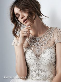 Check out our Maggie Sottero wedding dress selection here at Wedding Shoppe! Designer Wedding Gowns, New Wedding Dresses, Elegant Wedding Dress, Perfect Wedding Dress, Bridal Dresses, Gown Wedding, 2017 Wedding, Lace Wedding, Wedding Dress Topper