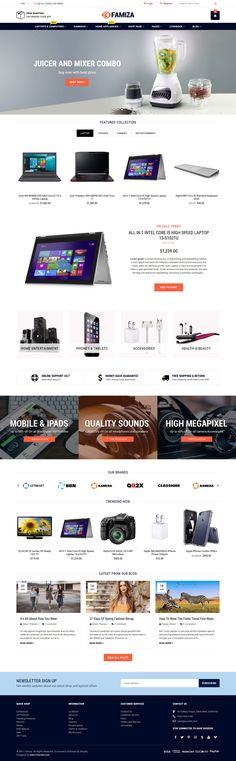 Famiza is a Responsive Multipurpose Sectioned Shopify Theme with clean & modern design. Famiza is fully responsive to looks perfect on all types of screens and devices. It's fully compatible with the Shopify sectioned theme customization. It's created and developed to easy setup and use the new section in your store. Famiza is suitable for any kinds of business stores such as Fashion, Clothes, Men Fashion, Women Fashion, Kids Fashion, Accessories, Gadgets & Digital store, Jewelries, Shoes…
